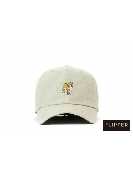 Premier Flipper 小童鴨舌帽系列_Hatchi Dog (杏色)
