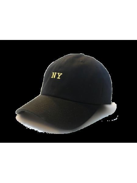 Premier Flipper Ballcap_香港限定系列_NY 刺繡圖案 (黑色)