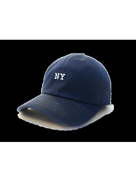 Premier Flipper Ballcap_香港限定系列_NY 刺繡圖案 (深藍色)