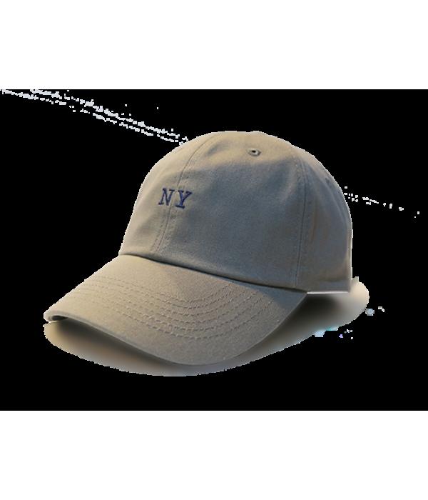 Premier Flipper Ballcap_香港限定系列_NY 刺繡圖案 (灰色)