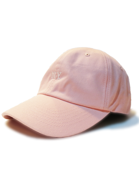 Premier Flipper Ballcap_香港限定系列_NY 刺繡圖案 (粉紅色)