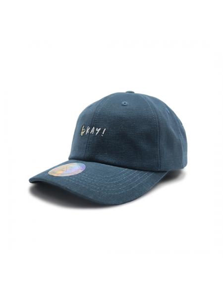 Premier Flipper Ballcap_香港限定系列_OKAY 刺繡圖案 (藍色)