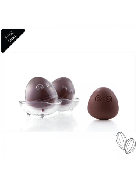 econeko - 荷蘭可可天然有機潔面皂-1件蛋形套裝