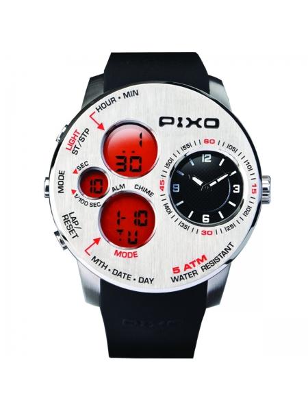 PX-5 Time Panel 系列銀鋼色+橙色